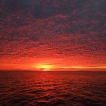 Sunrise at Anclote