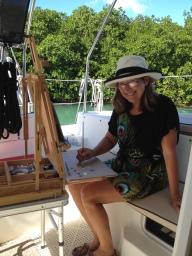 brenda-in-boat-studio